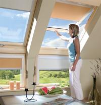 Мансардные окна для крыши Fakro Plus-V